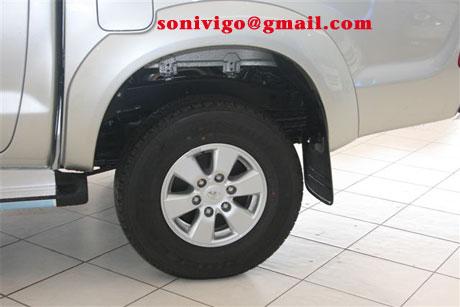 wheel of LHD Toyota Hilux Vigo 2009