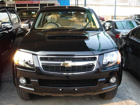 Chevy Colorado 2008 front - Get your Chevy now at Jim Autos Dubai and Jim 4x4 Dubai, Thailand and England United Kingdom