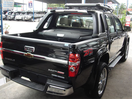Chevy Colorado 2008 accessorized rear view - Get your Chevy now at Jim Autos Dubai and Jim 4x4 Dubai