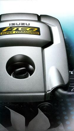isuzu dmax iteq diesel engine