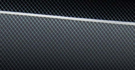 Lexus Ex GT/GLS: Black mesh print panel