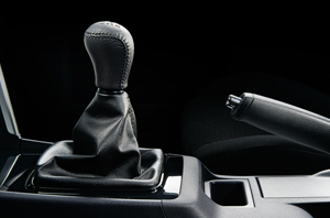 Lancer Ex Leather-Wrapped Gearshift Knob