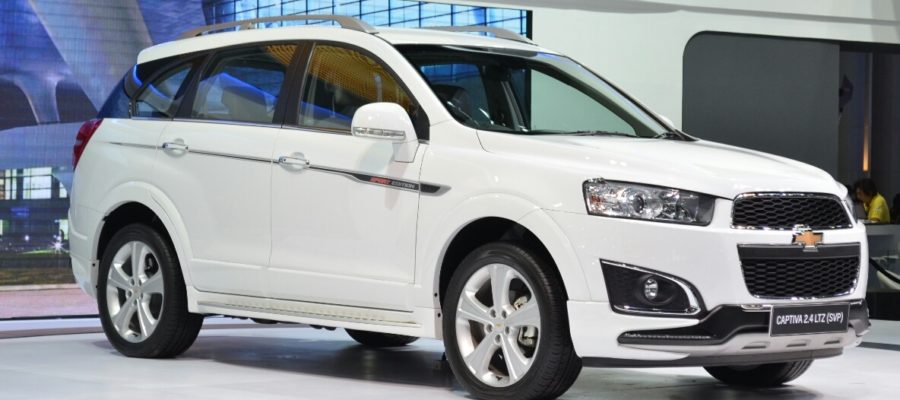 2016 2017 Chevy Captiva Thailand